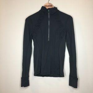 lululemon athletica Tops - Lululemon Run Energy Pullover - Black - Size 6